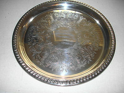 1979 MENTOR HARBOR OH YACHT CLUB Silverplate Tray Trophy FALCON CUP