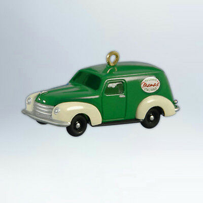 Hallmark Series Ornament 2012 Mamas Delivery Van Nostalgic Houses Shops #QXG4571
