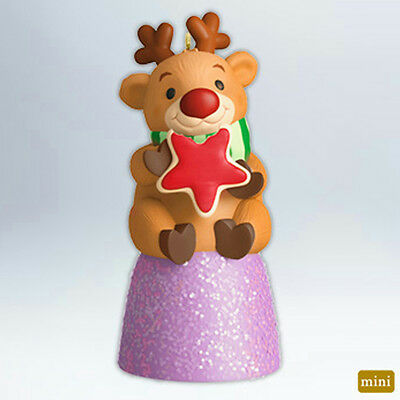 Hallmark Miniature Ornament 2012 Deer-ly Loved Cookie - #QXM9031