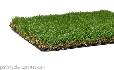 Synthetic Artificial Turf Fake Grass Lawn 40Mm - Premium