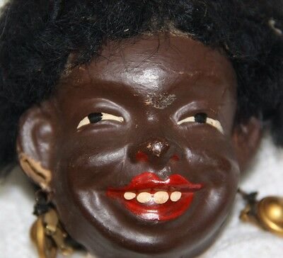 automation doll black doll antique automation doll antique black tribal doll