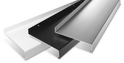 Aluminum Window sill Window Sill Projection 50 mm SHEET anthracite silver