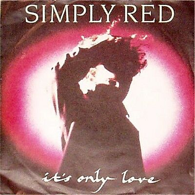 """Simply Red 'it's Only Love' German Picture Sleeve 7"""" Single"""