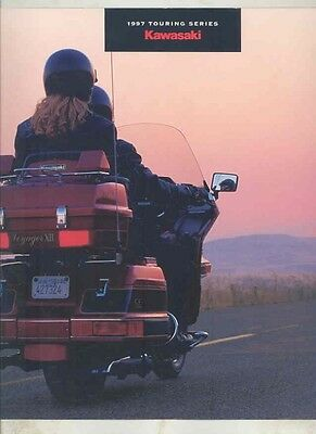 1997 Kawasaki Voyager XII 1200 Concours 1000 Motorcycle Brochure wv8126