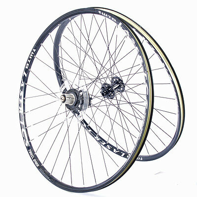 "WTB Laser TCS Trail MTB Wheelset 29"" 32H 15mm Axle Take-off"
