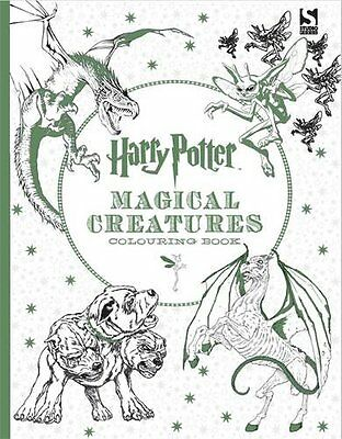 New Harry Potter Magical Creatures Colouring Book Paperback