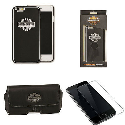 Harley Davidson 7793 Hard Shell Cover and Case for iPhone 6s with Glass SP