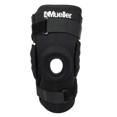 Mueller Sports Medicine Hinged Wraparound Knee Brace Support Regular Durable