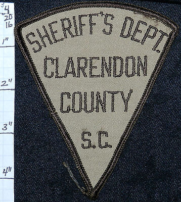South Carolina, Clarendon County Sheriff's Dept Patch