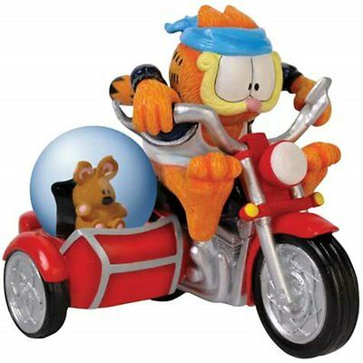 Garfield Fastest Cat in Town Water Globe Statue by Westland Giftware