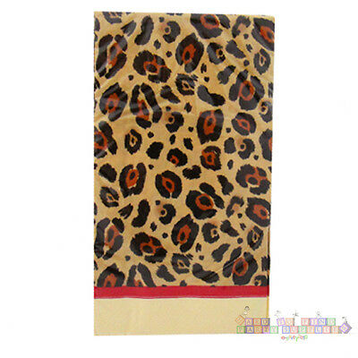 CHEETAH ROSE ANIMAL PRINT GUEST NAPKINS (16) ~ Birthday Party Supplies Towels