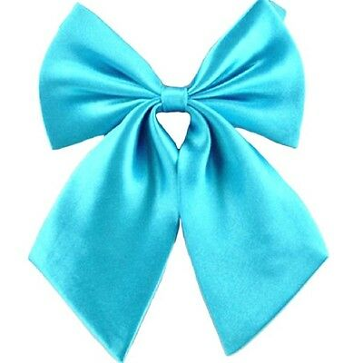 Hot Selling Butterfly Cravat Silk Bowtie Solid Color Marriage For Women Business