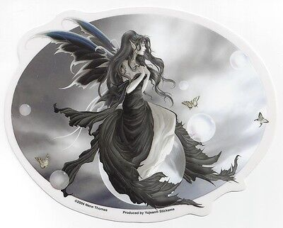 Gathering storm fairy sticker car decal nene thomas faery faerie