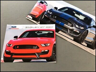 Shelby Ford Gt  Gt Mustang Car Sales Brochure Catalog R