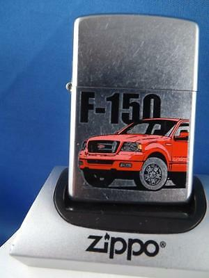 Zippo Lighter Ford F 150 Red Pickup Truck 2005 Sealed New  Car Collector