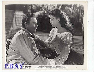 John Wayne Gail Russell VINTAGE Photo Wake Of The Red Witch
