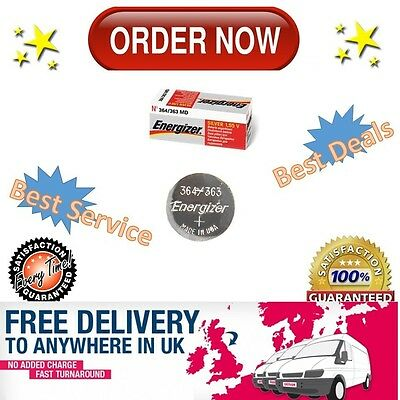 Energizer 364 363 Battery 1.5v Watch Batteries Silver Oxide - BUY MORE PAY LESS!