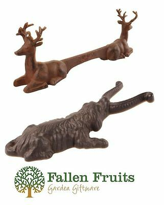 Fallen Fruits Cast Iron Door Boot Welly Jack or Mud Scraper