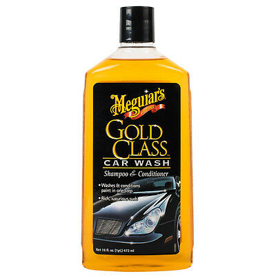 Meguiars Gold Class Car Wash Shampoo & Conditioner Rich, Luxurious Subs 473ml