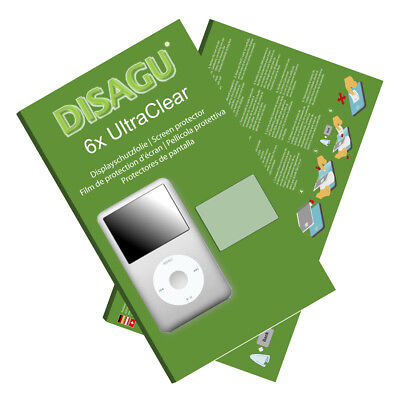 6x UltraClear Screen Protector for Apple iPod classic 160 GB