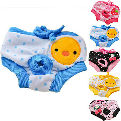 Pet Dog Puppy Diaper Pants Physiological Sanitary Short Panty Underwear New