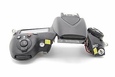 NIKON D810 TOP COVER With Flash LCD Replacement  REPAIR PART A0897