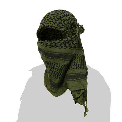 SecPro Tactical Shemagh Scarf [OD Green]
