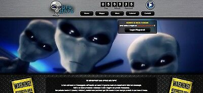 "WEBSITE / SITO WEB ""UFO MAPS"" CESSIONE • Gioco/Game Online • BROWSER GAME"