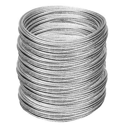 1000\' ANTENNA GUY Wire Plastic Coated Galvanized 6/20 Guy Wire for ...