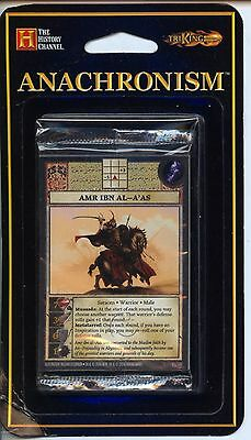 Anachronism Set 3 Amr ibn al-A'as booster Pack MINT Tri King Games