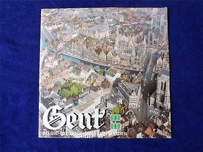 Gent Travel Magazine Booklet Belgium Points Of Interest Maps Festival Flanders