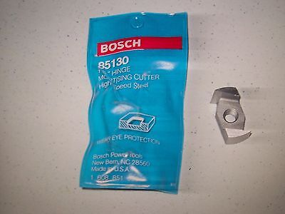 """Bosch 1-1/4"""" Hinge Mortising Cutter 85130  Hss New In Package  30% Off!"""