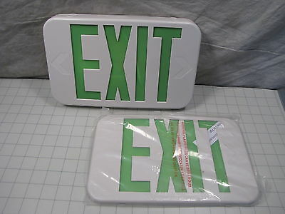 All-Pro APX7G APX Thermoplastic LED Exit Sign Self Powered Single or Double Face