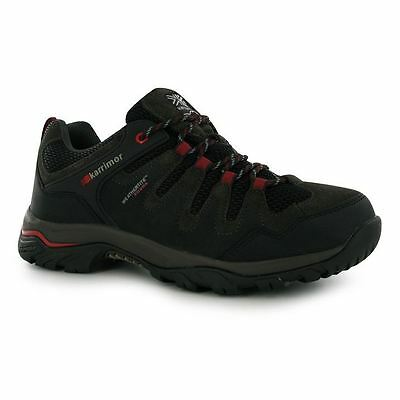 Karrimor Mens Axis 3 Walking Shoes Lace Up Waterproof Breathable Outdoor Hiking