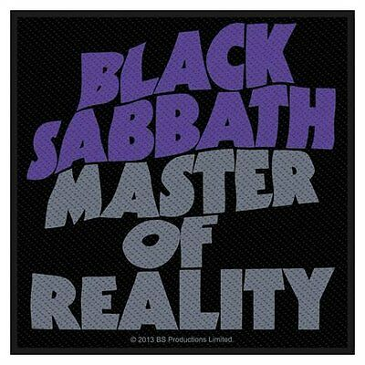 BLACK SABBATH - sew on patch - Master Of Reality - 100mm square FREE P&P gift