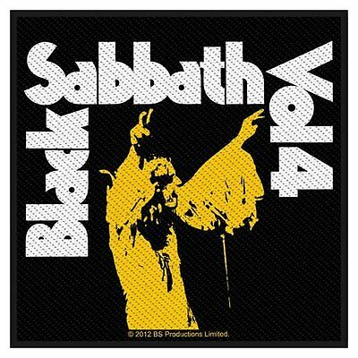 BLACK SABBATH - sew on patch - Vol.4 - 100mm square FREE P&P gift