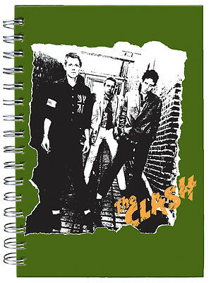 THE CLASH 1st Album cover design A5 journal UK Free P&P  gift