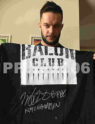 Wwe Nxt Finn Balor Hand Signed Balor Club T-Shirt With Picture Proof And Coa
