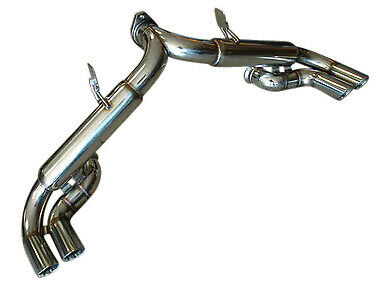 Ferrari 355 Coupe Spider 95-99 T304 Challenge Race Stainless Exhaust System