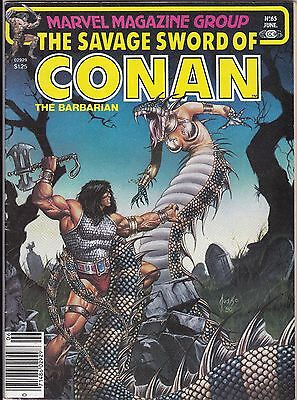 "June 1981 Marvel Magazine Group ""Savage Sword of Conan the Barbarian"" #65"