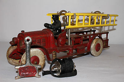 1920's Kenton Cast Iron Fire Truck