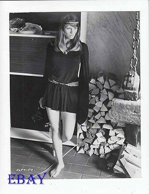 Julie Christie sexy leggy barefoot VINTAGE Photo In Search Of Gregory