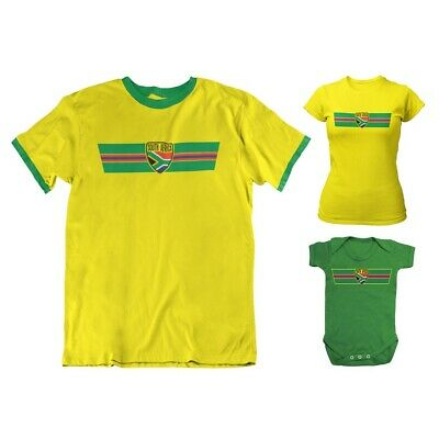 f5bbb698567 SOUTH AFRICA T-Shirt Cricket WORLD CUP 2019 Rugby Choice MENS Women KIDS  BABY