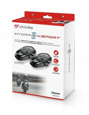 XDE-A Sport Twin Pack Interphone Cellularline