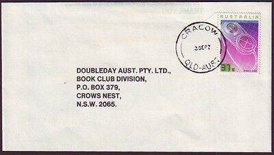 """Queensland Postmark """"cracow"""" On 1987 Commercial Cover (Ru1271)"""