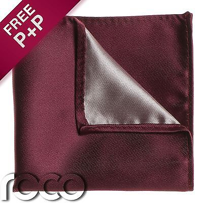 Boys Wine Pocket Square, Boys Handkerchief, Pocket Handkerchief