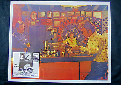 "Clint Eastwood ""play Misty For Me"" Jessica Walter N Mint Spanish Lobby Card 71"