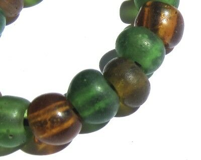 17 Rare Small Amazing Old Mixed Padre Antique Beads African Trade @@