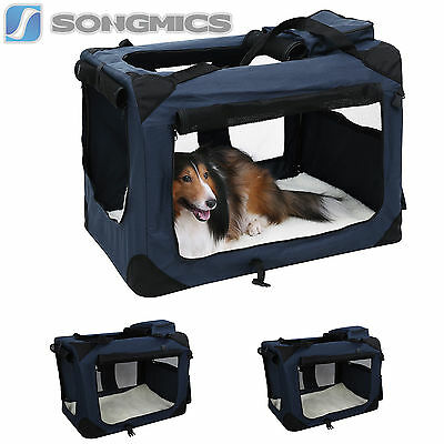 Faltbare S-XL Hundebox Katzenbox Transportbox Hundetransportbox Oxford Gewebe