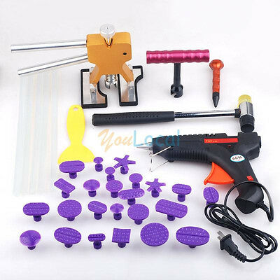 Paintless Hail Repair PDR Dent Lifter Puller Ding Removal Tools Kits US Stock